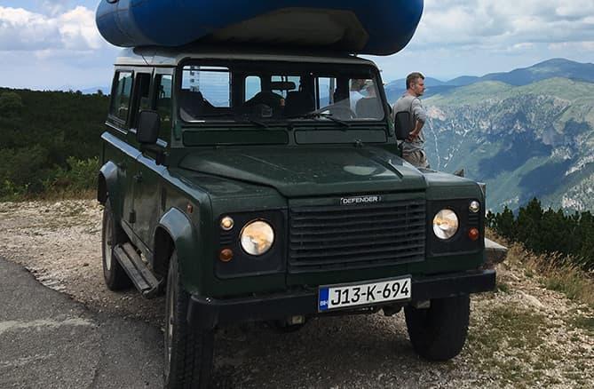 jeep safari off road