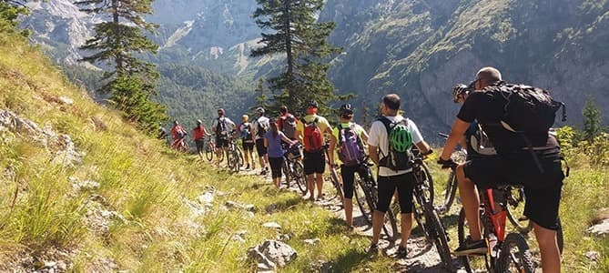 mountain biking national park durmitor
