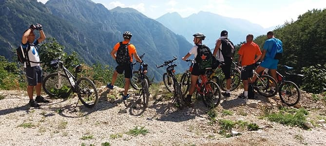 mountain biking national park sutjeska