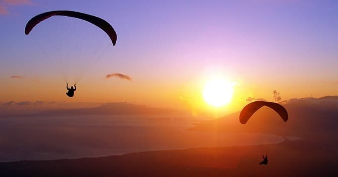paragliding summary