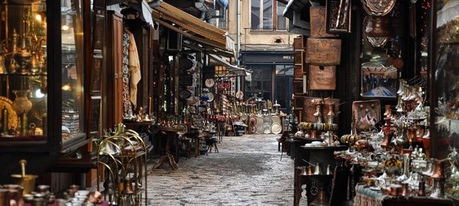sightseeing sarajevo bascarsija old town