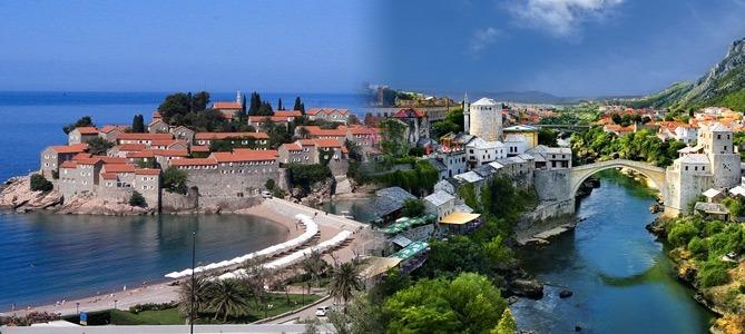 sightseeing excursion montenegro and bosnia