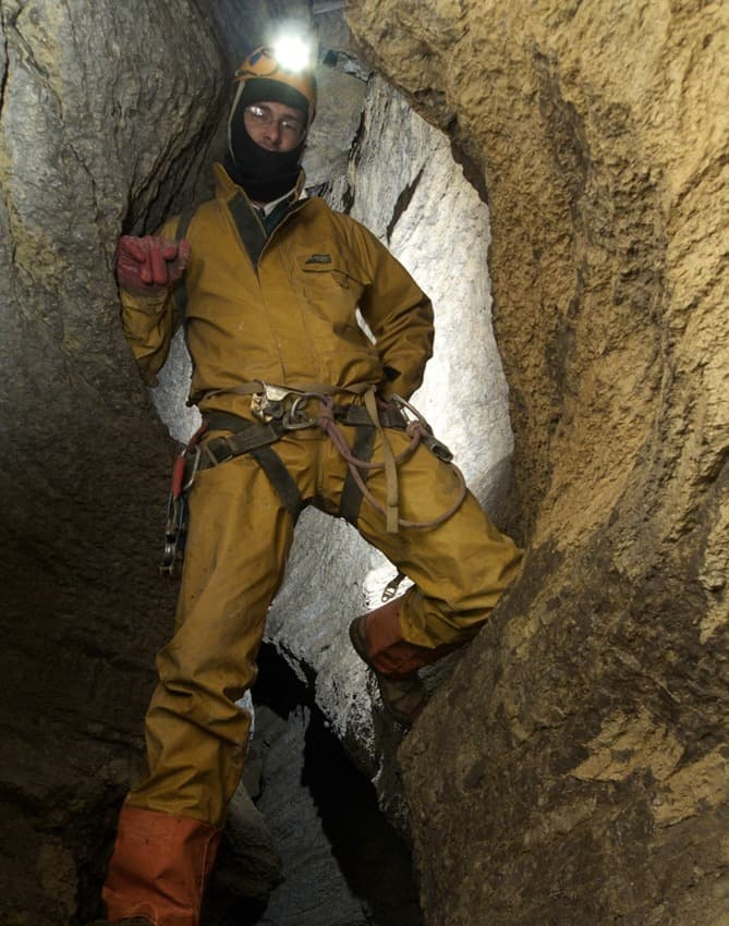 speleology equipment