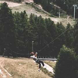 zip line tara montenegro activity