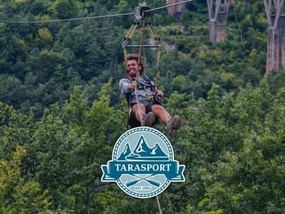 Here's why zip line is cool activity in Montenegro
