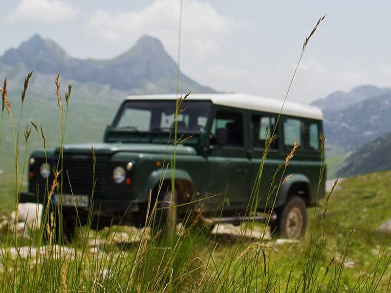 jeep safari durmitor