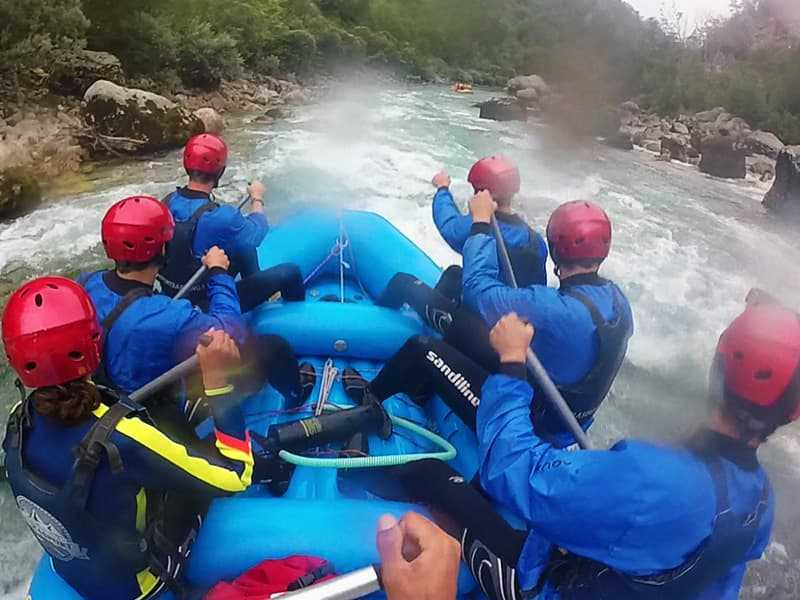 three day tour rafting 22km