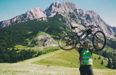 mountain biking durmitor maglic tour
