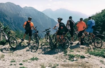 mountain biking sutjeska national park