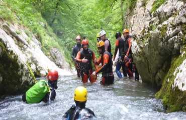 tara rafting and nevidio canyoning