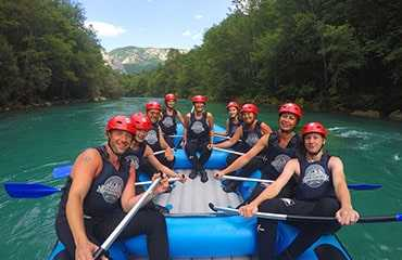 Tara Rafting from Budva