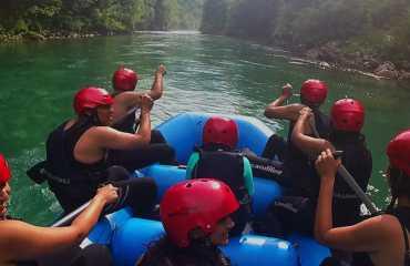 three day rafting tour 42km