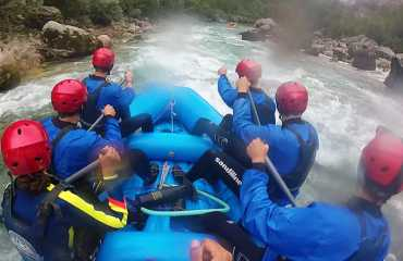 three day tour rafting 22km