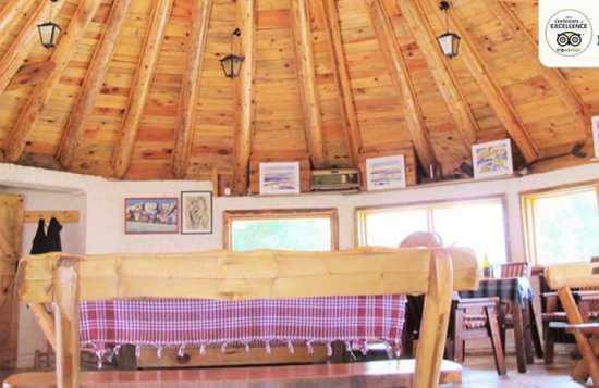 Etno selo Nevidio kuhinja bungalov