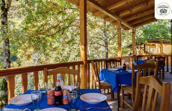 Modra Rijeka kamp restoran