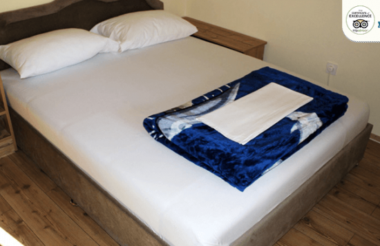 Motel Brioni room for two - double bed king size bed