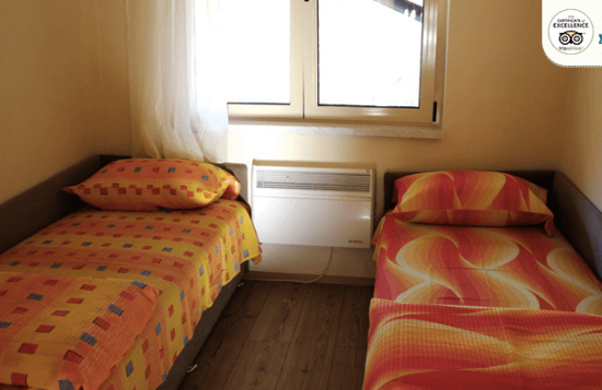 Motel Brioni double room - twin bed room accommodation