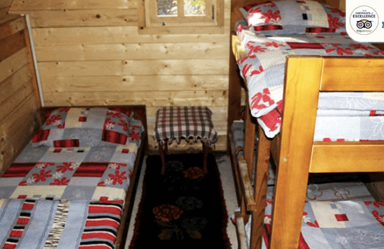 Rafting camp on Tara River bungalows in Bosnia & Herzegovina