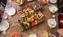 Tarasport Rafting Camp - Homemade Food