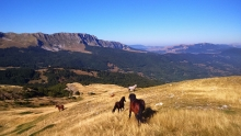 horse riding durmitor gallery