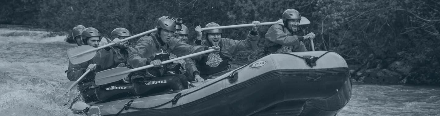 trodnevni rafting reka tara