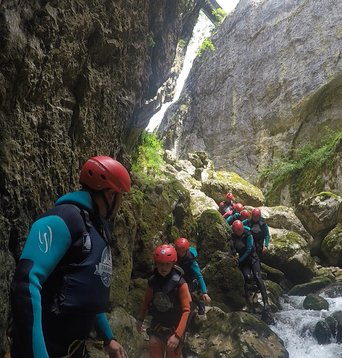 Team Building - Canyoning