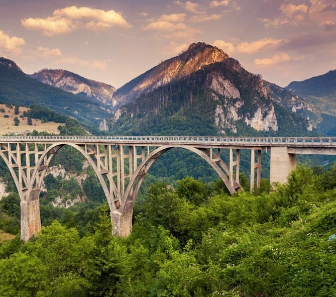 zip line djurdjevica tara bridge