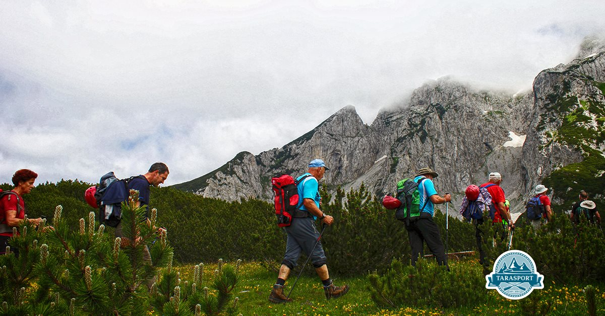 Difference between trekking and hiking - Durmitor mountain